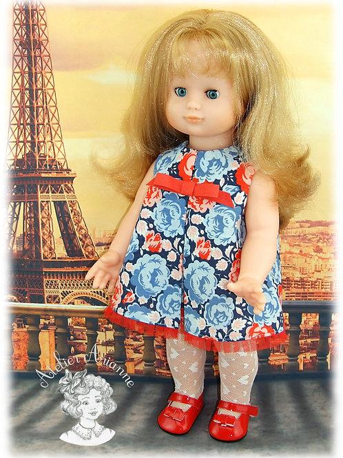 Octobre 1965, tenue pour poupée Emilie de Modes et Travaux
