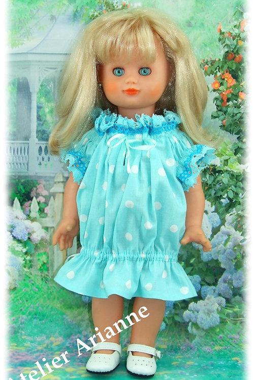 Tenue pour poupée Emilie Modes et Travaux Juin 2010