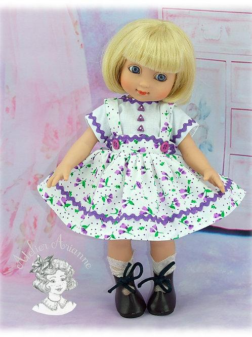 Tenue Ninette pour poupée Ann-Estelle ou autres de 25 cm