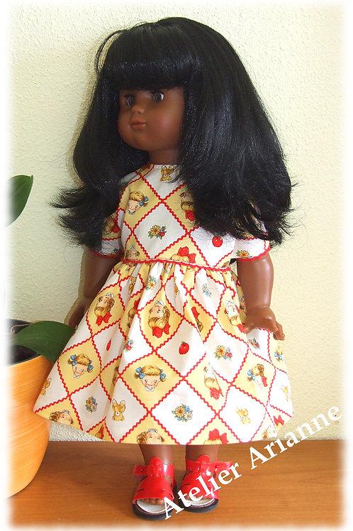 Tenue Margaret pour poupée  Emilie Modes et Travaux