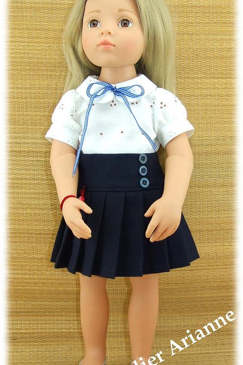 Tenue Blanca pour poupée Gotz