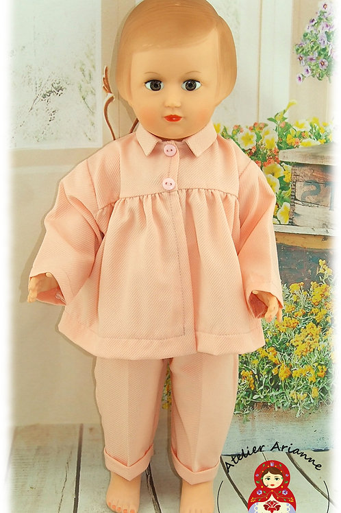 Tenue pour poupée Françoise Modes et Travaux Mars 1953