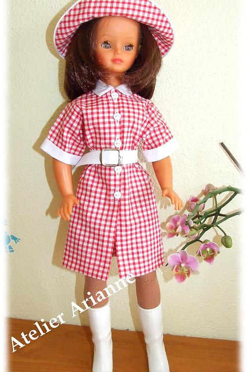 Reproduction Tenue  pour poupée Cathie et Nathie de Bella