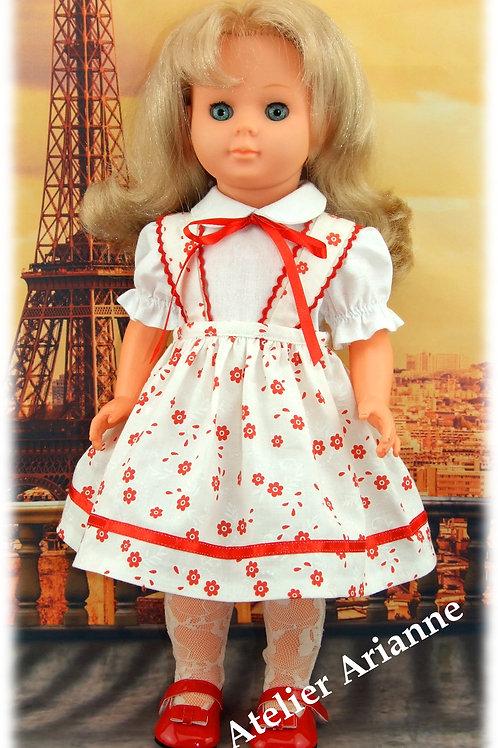 Tenue Anne-Marie pour poupée Marie-Françoise Modes et Travaux