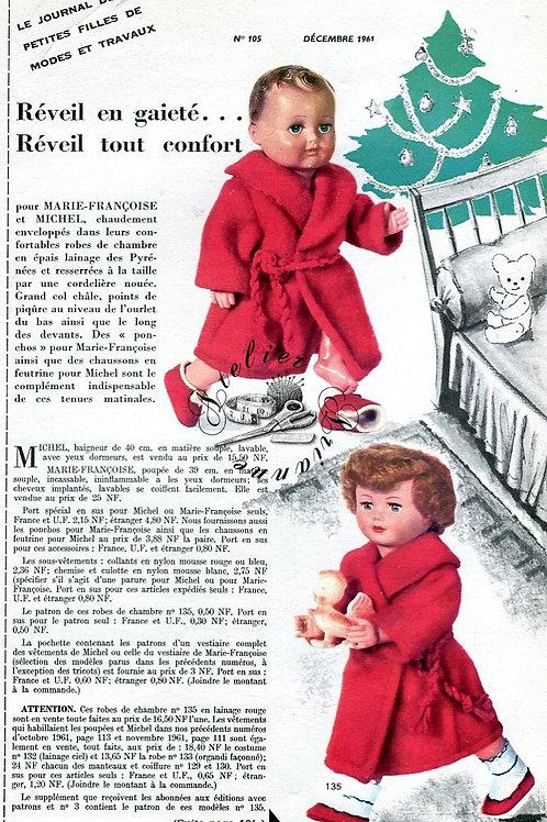 Page Modes et Travaux Décembre 1961 avec Mini patron