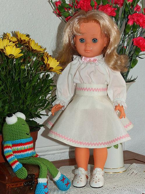 Tenue pour poupée Marie- Françoise Modes et Travaux Octobre 1982