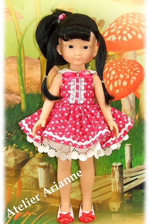 Tenue Antonine pour poupées Chérie de Corolle et Las Amigas de Paola Reina