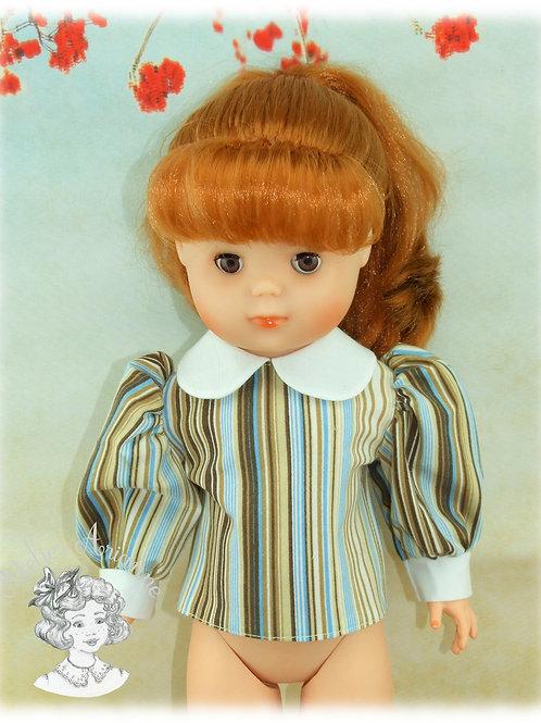 Chemise pour les poupées de Modes et Travaux