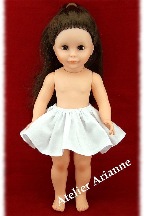 Jupon pour poupée Françoise et autres de Modes et Travaux