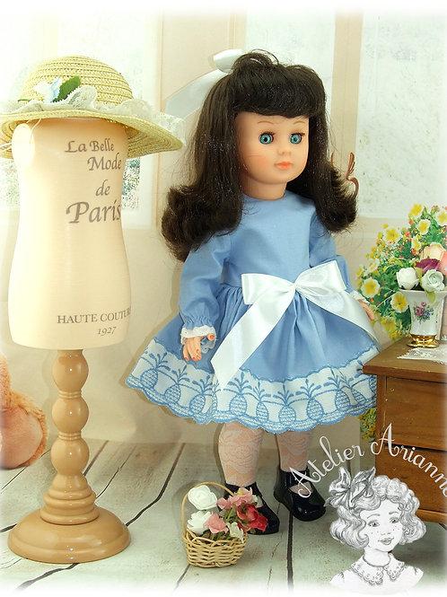 Octobre 1971 Tenue pour poupée Marie Françoise Modes et Travaux