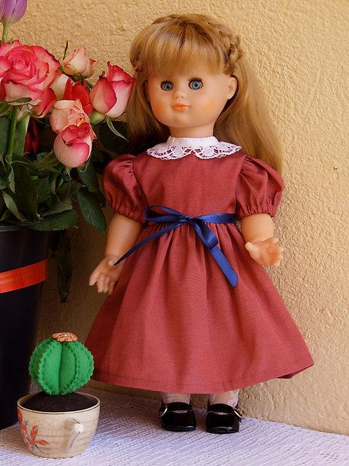 Tenue pour poupée Emilie Modes et Travaux Décembre 1986