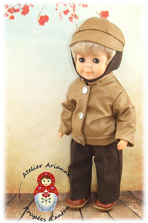 Décembre 1970 Tenue pour poupée Jean-Michel de Modes et Travaux