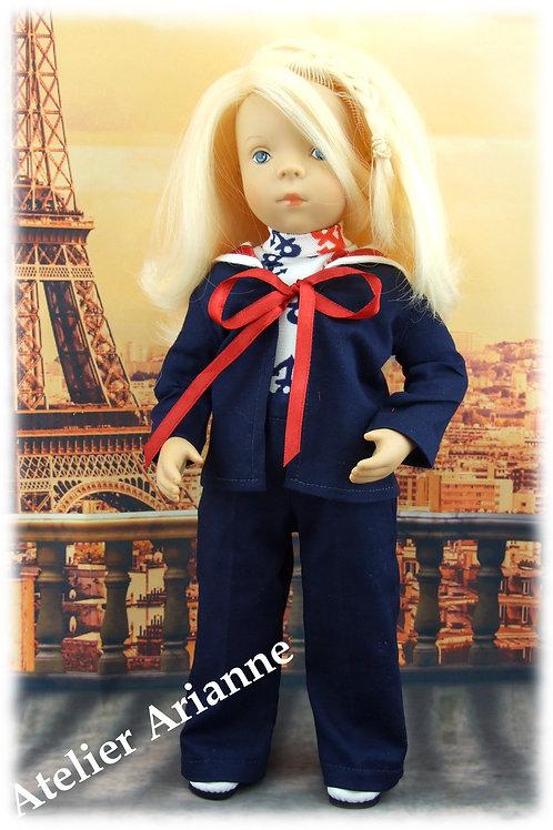 Tenue Antonia pour poupées Little Darling, Corolle,Minouche, Paola Reina 33 cm