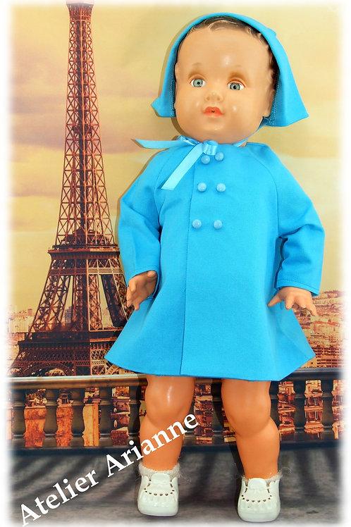 Tenue Promenade pour poupées et baigneurs 50-55 cm , Convert, Bella et autres