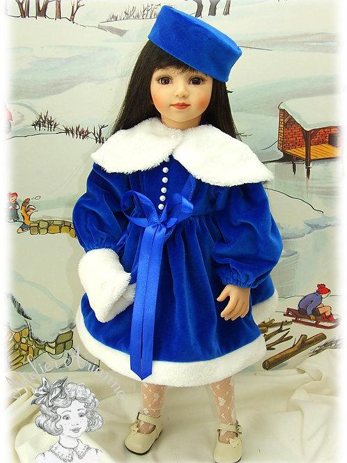 Modèle exclusif - Elsa tenue pour poupée Maru