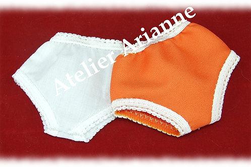 Culottes pour poupées de 28 cm