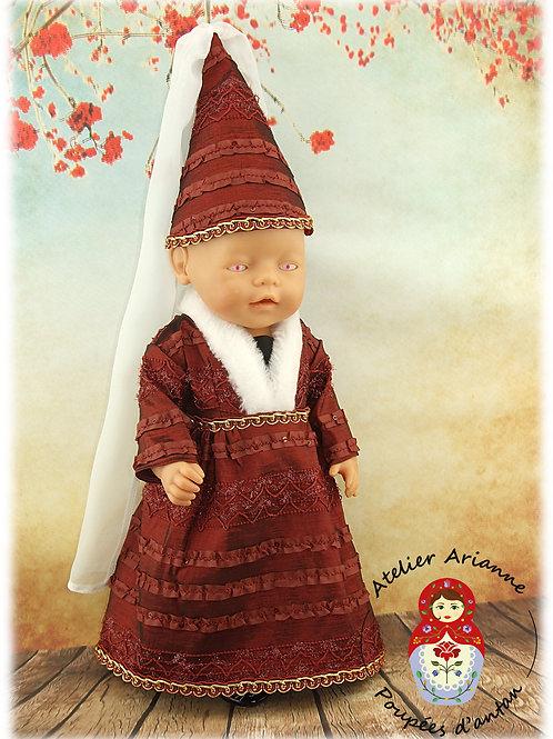 Janvier 1960 Tenue pour poupée Baby Born