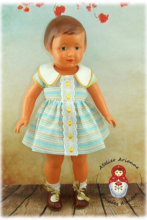 Tenue pour poupée Françoise Modes et Travaux Juin 1960