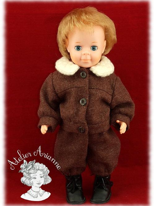 Veste pour poupée Jean-Michel de Modes et Travaux