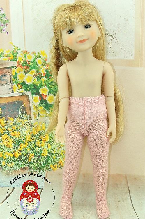 Collant tricoté pour poupée Ruby-Red ou Minouche