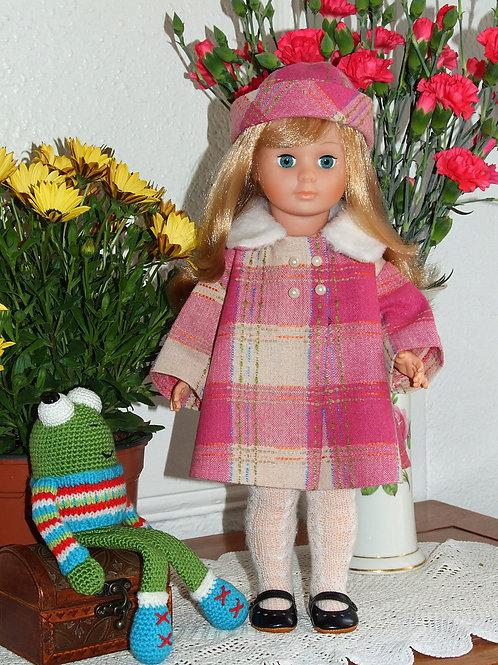 Tenue pour poupée Marie- Françoise Modes et Travaux Novembre 1965