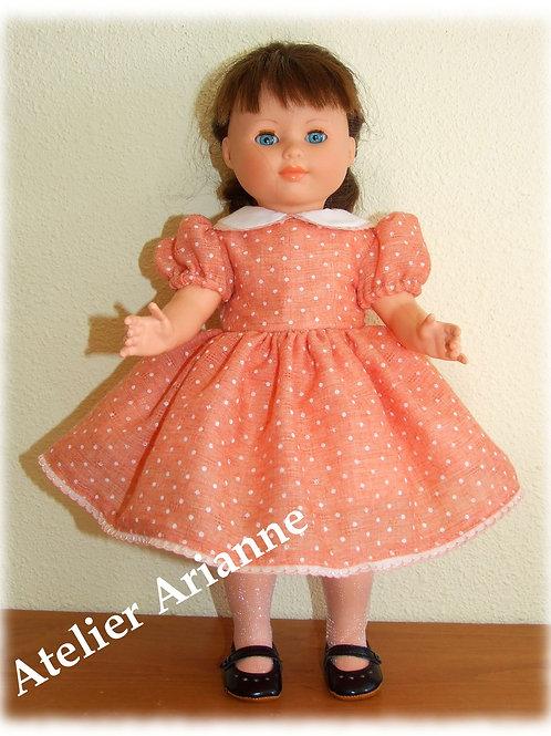 Tenue Lise pour poupées Modes et Travaux, Marie-Françoise