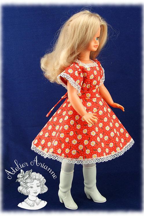 Robe Katell, Tenue  pour poupée Cathie de Bella et Finouche