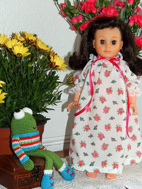 Tenue pour poupée Marie- Françoise Modes et Travaux Mai 1978