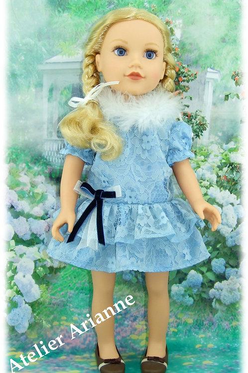Tenue Mathilda pour poupée Gotz, Journey Girl, Kids, Zwargnase 46-50 cm