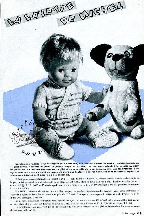 Page Modes et Travaux Février 1965 avec mini patron