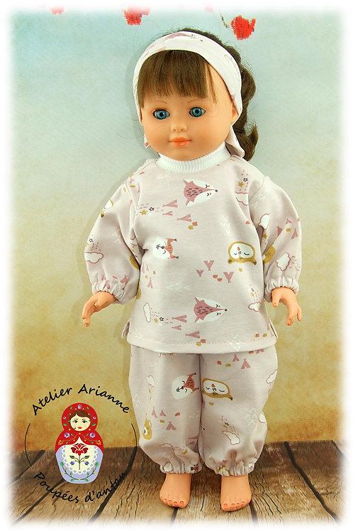 Janvier 1983 Tenue pour poupée Marie-Françoise de Modes et Travaux