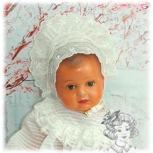 Bonnet pour poupée d'environ 40 cm