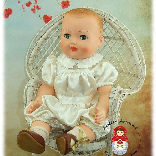 Décembre 1956 Tenue pour poupée Michel Modes et Travaux