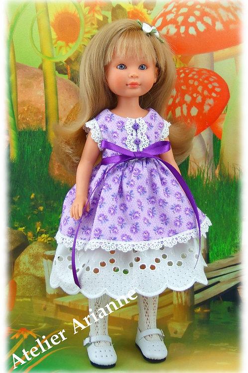 Tenue Nadine pour poupées Asi 30 cm , Iplehouse et Boneka 25 cm
