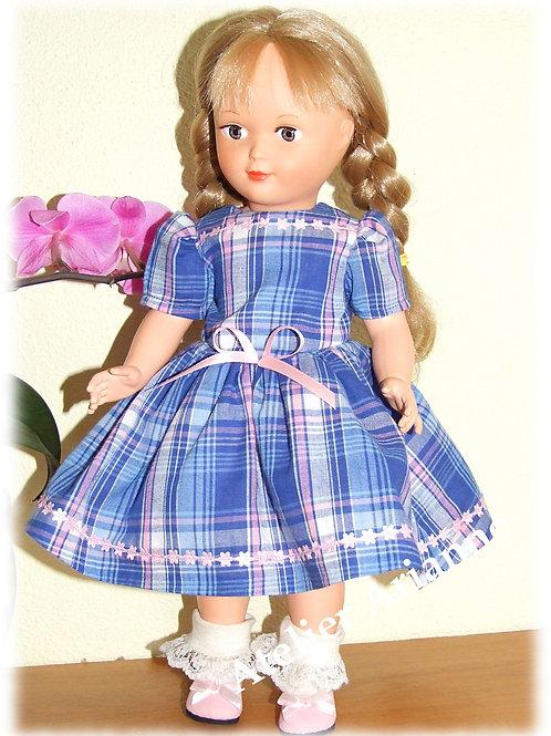 Tenue Léonie pour poupées Modes et Travaux Marie-Françoise, Louise, France