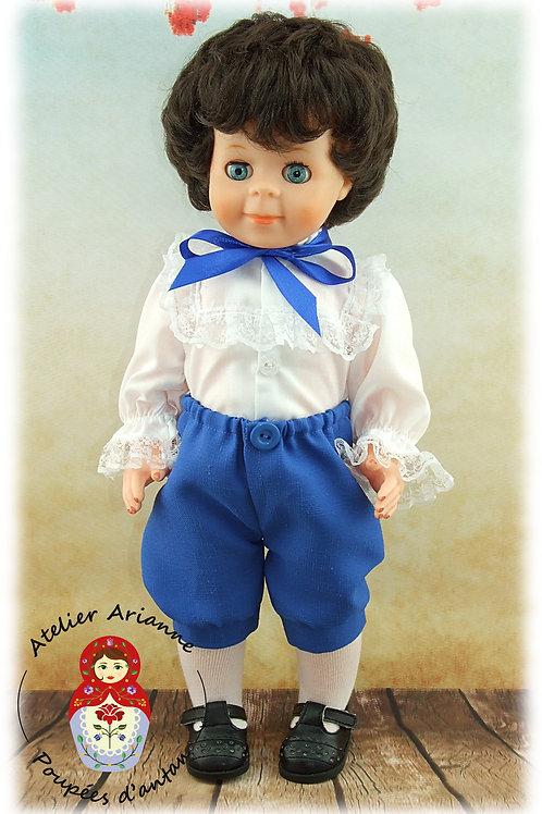 Avril 1982 Tenue pour poupée Jean-Michel de Modes et Travaux