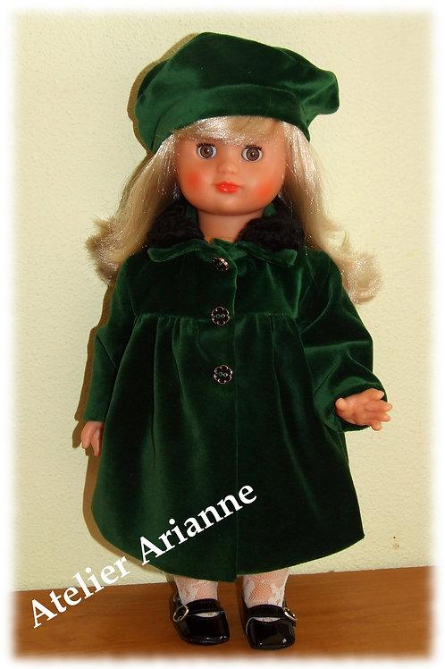 Tenue pour poupée Emilie Modes et Travaux décembre 1958