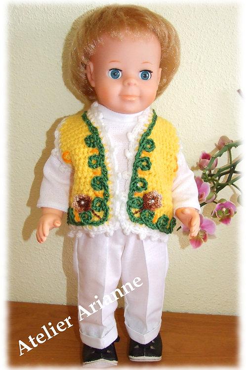Tenue Février 1970 pour poupée Modes et Travaux, Jean-Michel
