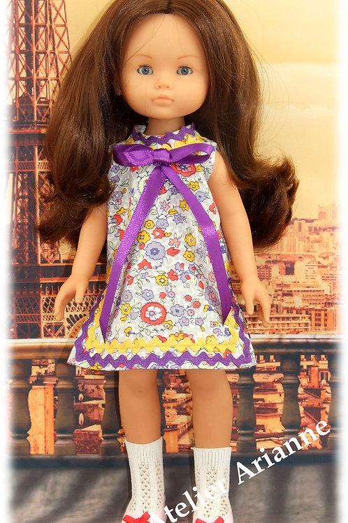 Tenue Bénédicte pour poupées Little Darling, Corolle ,Minouche, Paola Reina