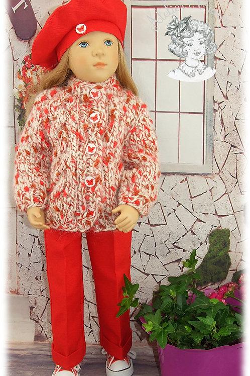 Lilou tenue pour poupée Finouche de Petitcollin