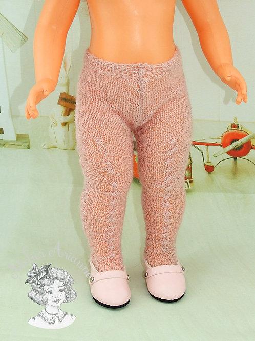 Collant tricoté pour poupées de Modes et Travaux