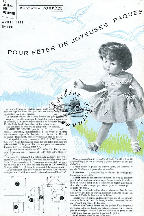 Page Modes et Travaux Avril 1962
