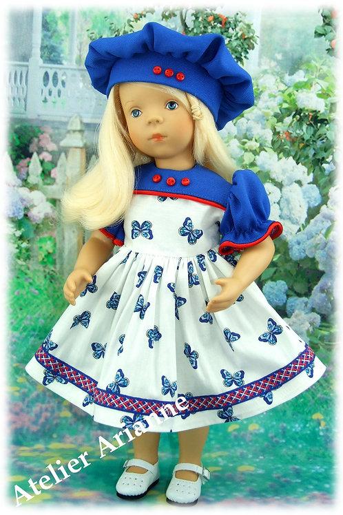 Tenue Papillon pour poupées Little Darling, Corolle,Minouche 33-35 cm