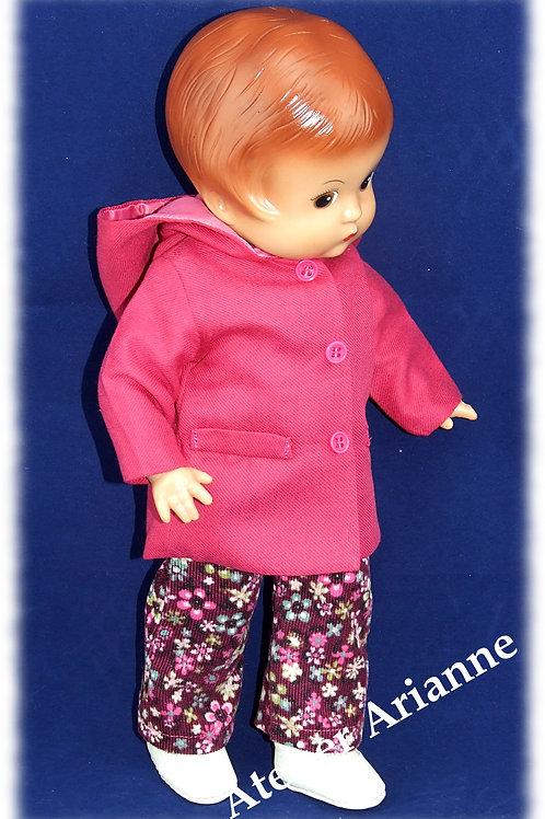 Tenue Olga pour poupées : Corolle, Paola Reina, Minouche, Patsy 33 cm