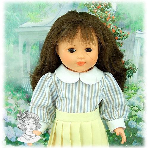 Chemise pour poupées de Modes et Travaux : Françoise, Francette, Louise