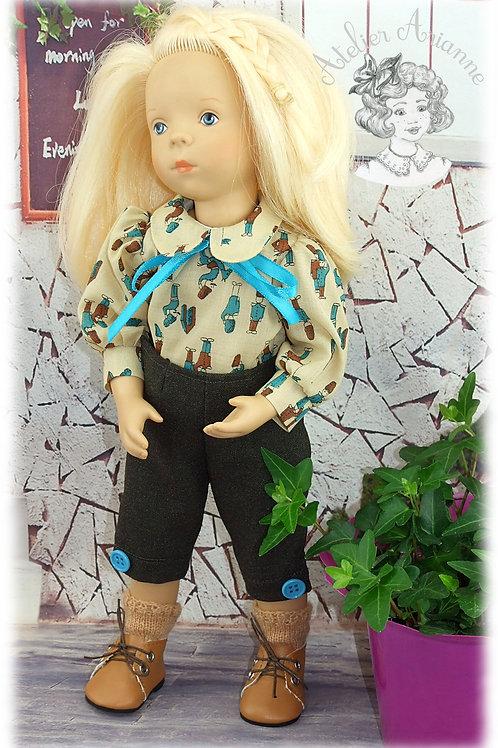 Lise tenue pour poupée Minouche