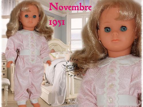 Tenue Modes et Travaux Françoise Novembre 1951