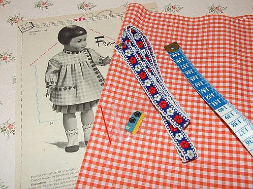 Kit 72 couture Modes et Travaux Françoise Octobre 1956