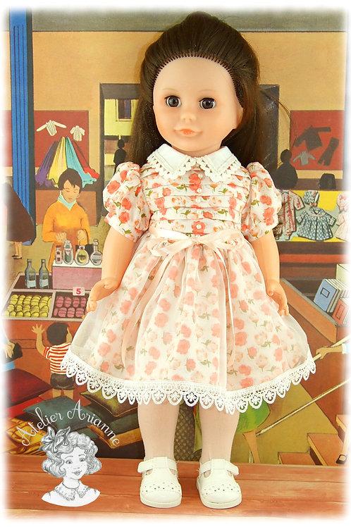 Tenue Anabelle pour poupées Modes et Travaux