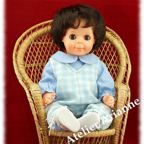 Tenue pour poupée Michel Modes et Travaux Octobre 1981